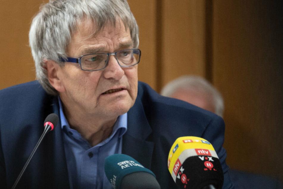 Uli Sckerl, der Parlamentarische Geschäftsführer der Landtags-Grünen, fordert für gut integrierte Flüchtlinge einen Abschiebestopp. (Archivbild)