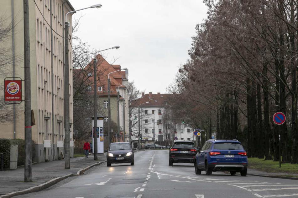 Ab Juni ist die Lommatzscher Straße gesperrt.