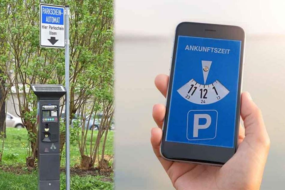 In Dresden überlegt man, das Bezahlen des Parktickets in Zukunft per Handy zu ermöglichen.