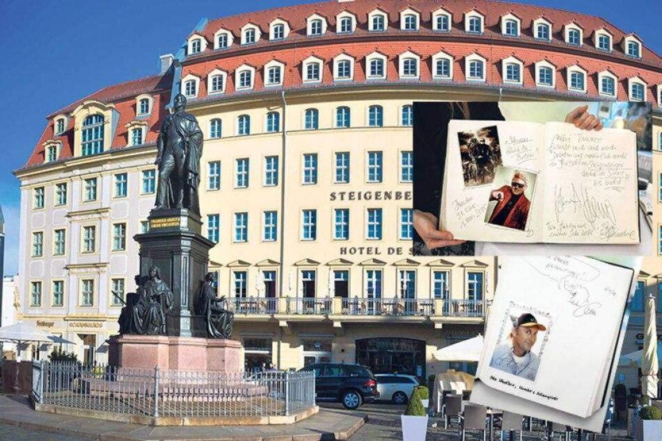 10 Jahre Hotel de Saxe: Promis ohne Ende...