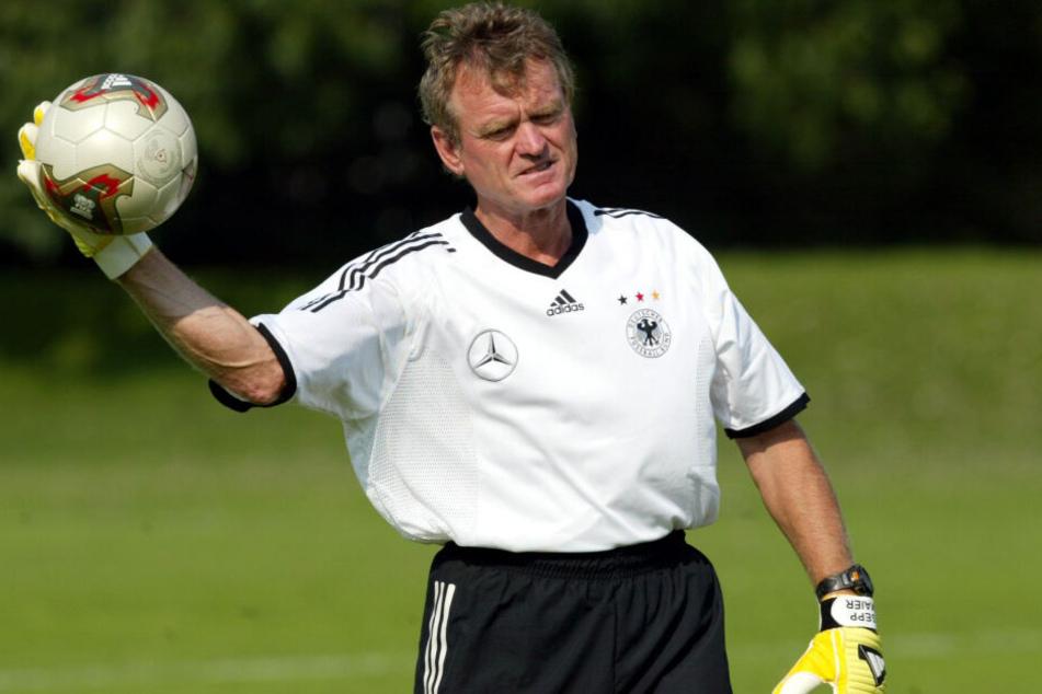Sepp Maier war über viele Jahre Torwart-Trainer bei der deutschen Fußball-Nationalmannschaft.