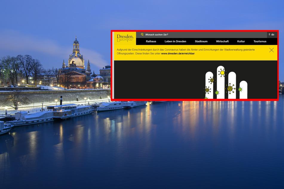"""Alles für die Stadtkasse: Rathaus versteigert Internet-Seite """"dresden.de"""""""