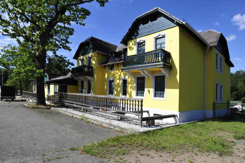 Die Heideschänke war eines der ältesten Chemnitzer Ausflugslokale.