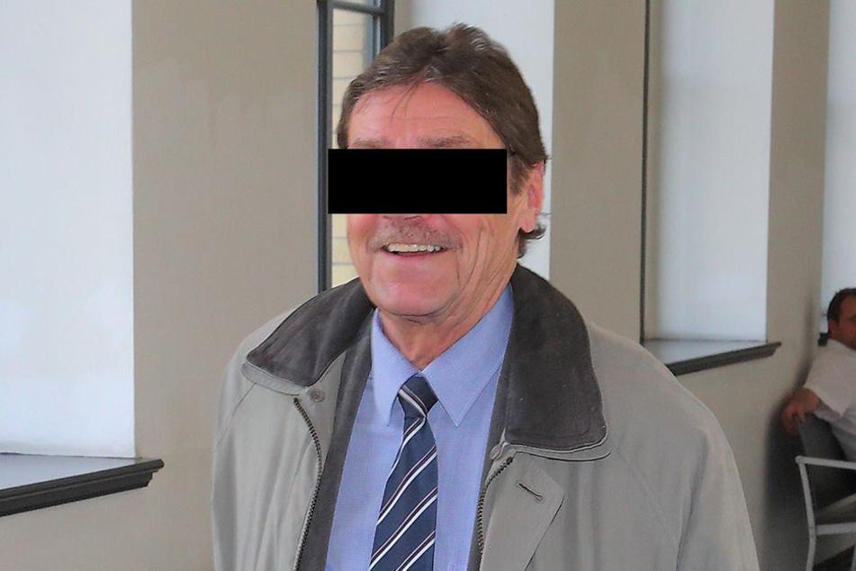 Lothar S. (68) erklärte seine Version am Donnerstag dem Richter.