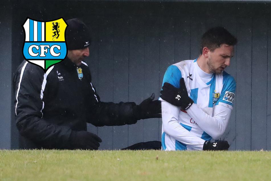 Trotz verletzter Schulter: CFC-Langer will unbedingt spielen!