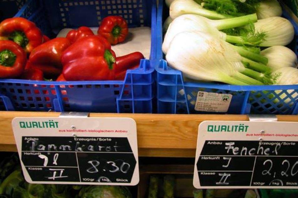 Auch Paprika wird deutlich teurer.