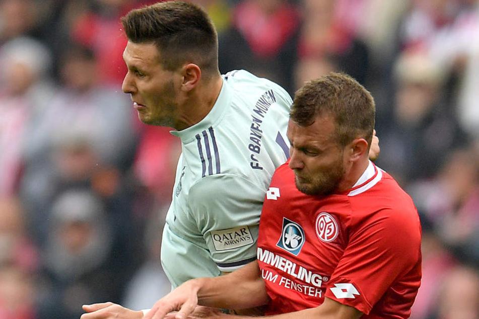 Die Bayern mussten sich ihren Sieg in Mainz hart erkämpfen.