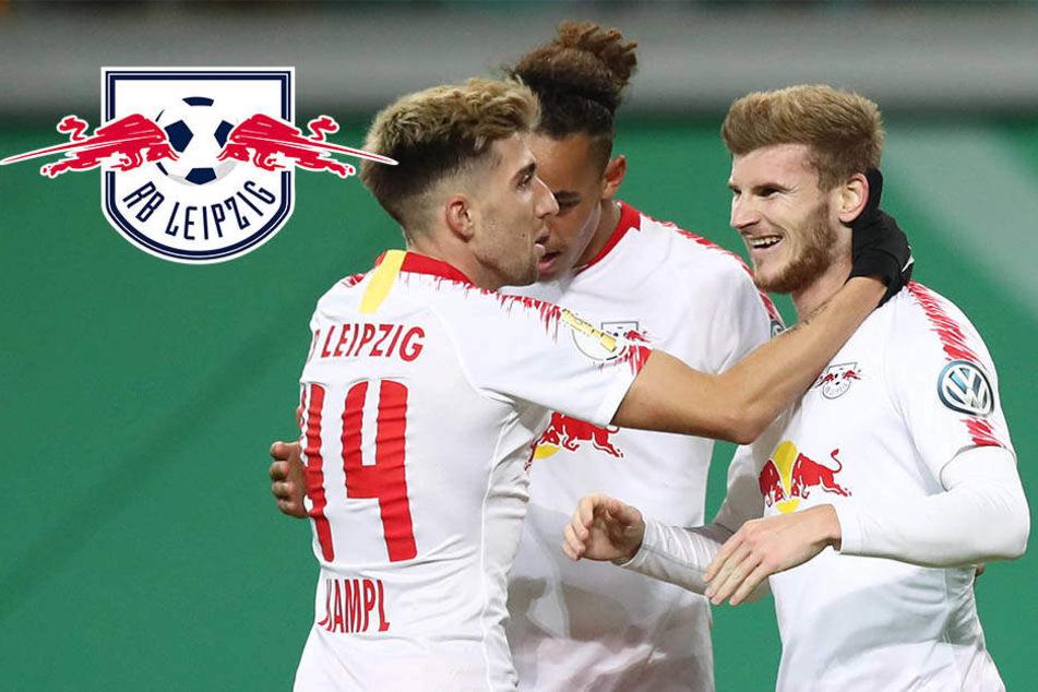 """RB Leipzig schon bereit für den Pokalsieg? """"Wieso sollten wir das nicht schaffen?"""""""