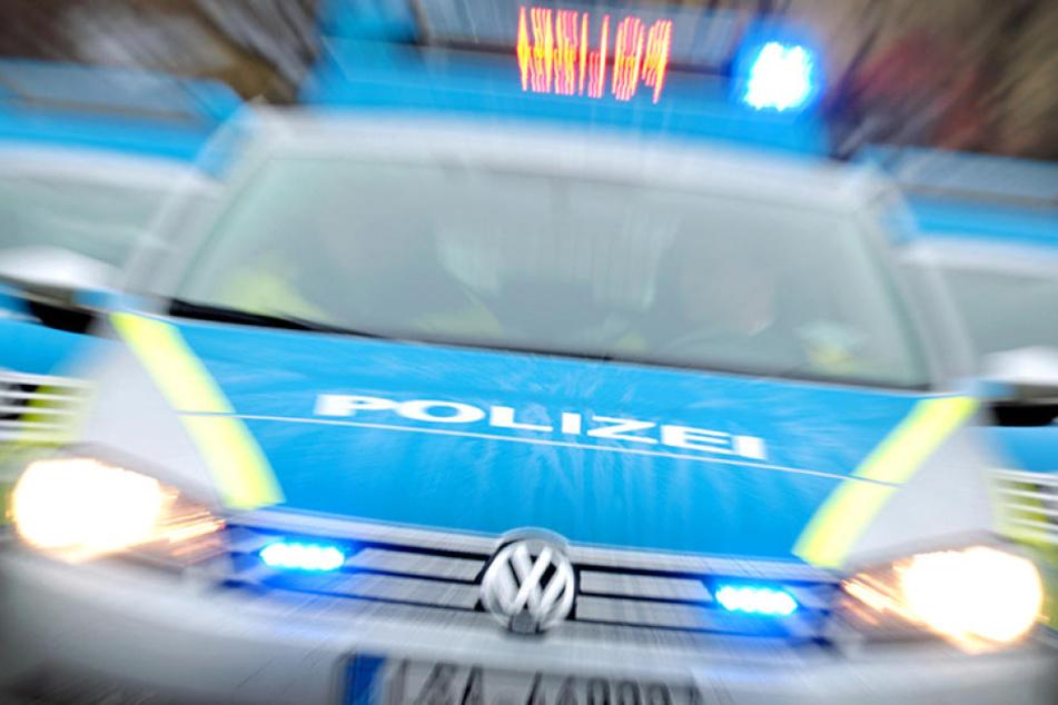 Die Polizei wollte den Fahrer  kontrollieren, der haute aber ab.