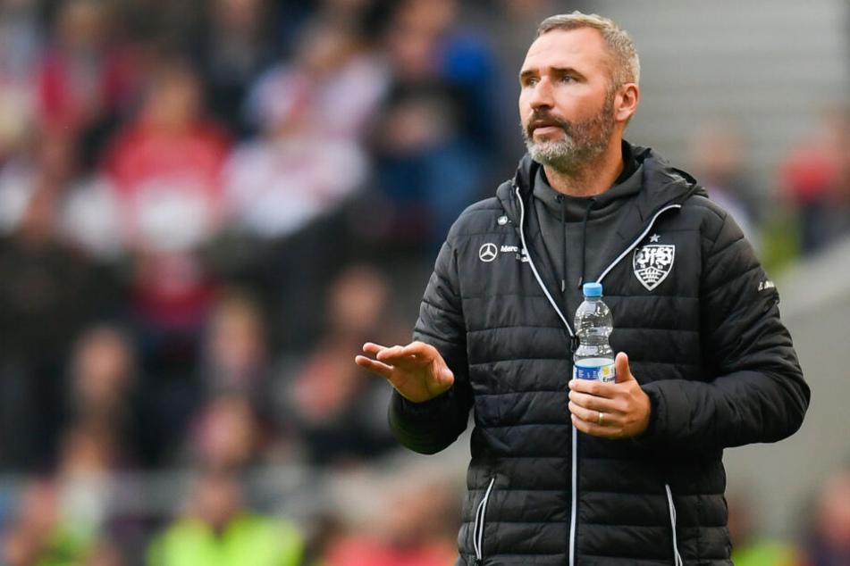 Tim Walter, Trainer des VfB Stuttgart.