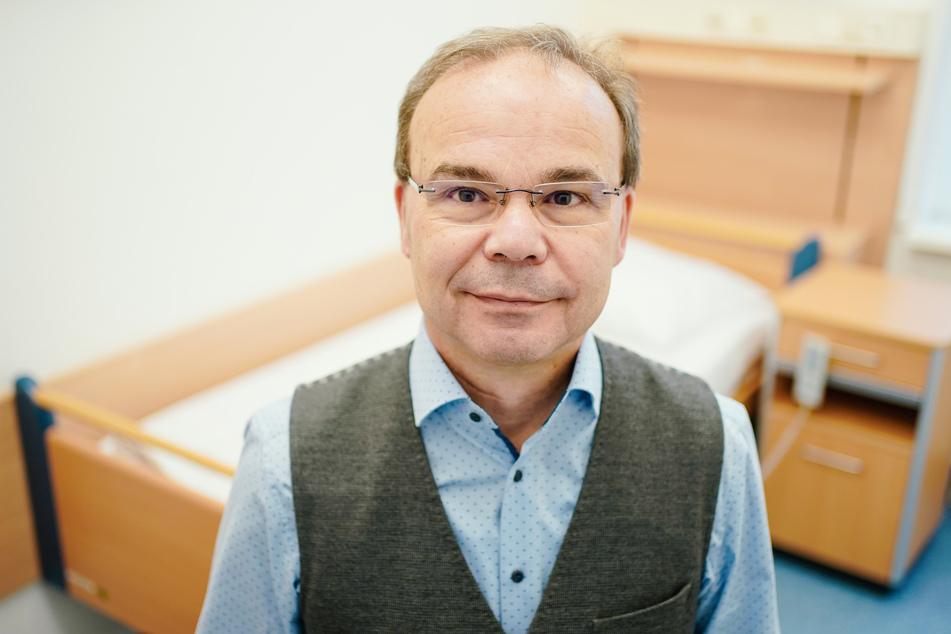 Hans-Günter Weeß, Leiter des Interdisziplinären Schlafzentrums im pfälzischen Klingenmünster.