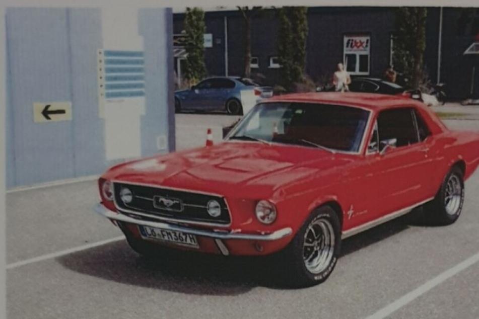 Diebes-Serie? 1967er Ford Mustang aus Tiefgarage gestohlen!