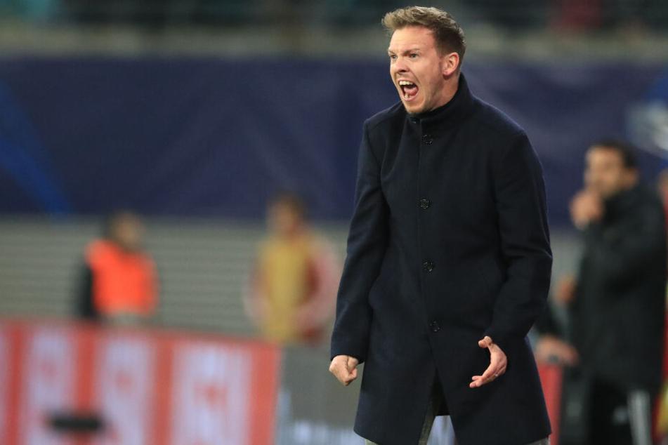 RB-Coach Julian Nagelsmann will gegen Paderborn keine böse Überraschung erleben.