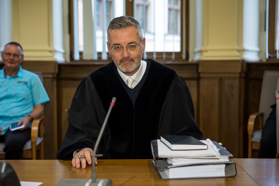 """Richter Bernd Gicklhorn übernahm erst kürzlich die """"Missbrauchskammer"""" (3. Strafkammer) des Leipziger Landgerichts und muss nun gleich einen Hardcore-Fall verhandeln."""