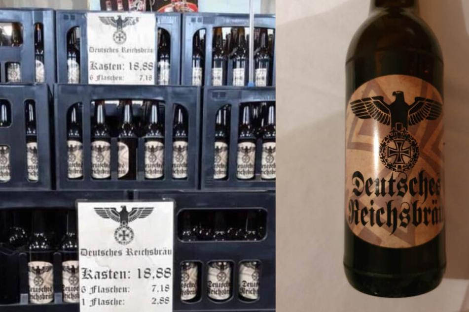 """Neonazi verkauft """"Deutsches Reichsbräu"""" mit Nazi-Symbolen für 18,88 Euro"""