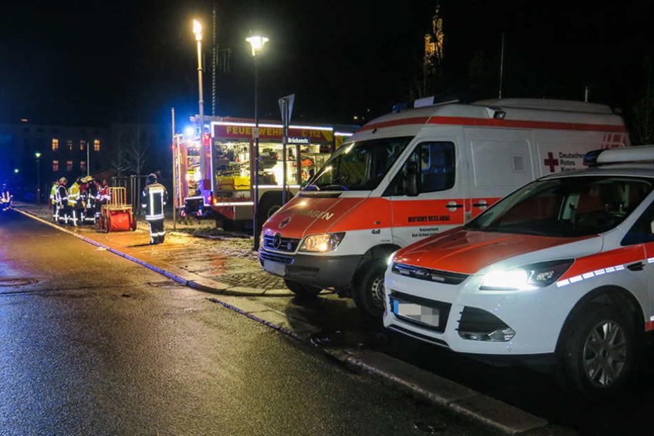 Zahlreiche Patienten wegen Krankenhausbrandes in Fritzlar in Sicherheit gebracht