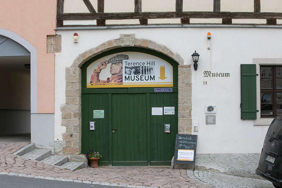 Terence Hills Besuch wäre nicht nur beim Festival gern gesehen. Auch im ihm gewidmeten Museum in Lommatzsch würde man sich über den Ehrengast freuen.