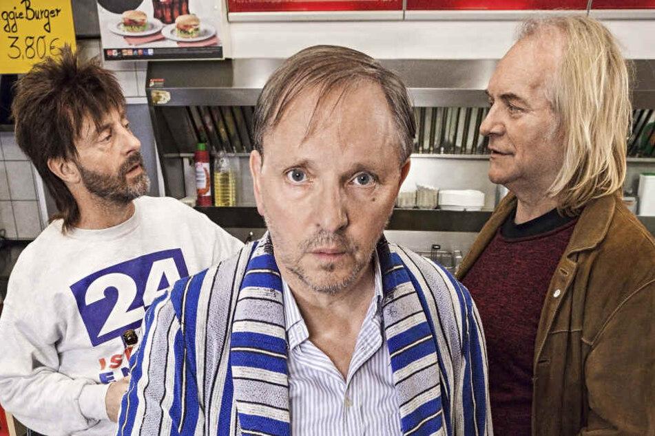 """Die neue Staffel muss ohne Franz Jarnach (rechts) alias """"Schildkröte"""" auskommen."""