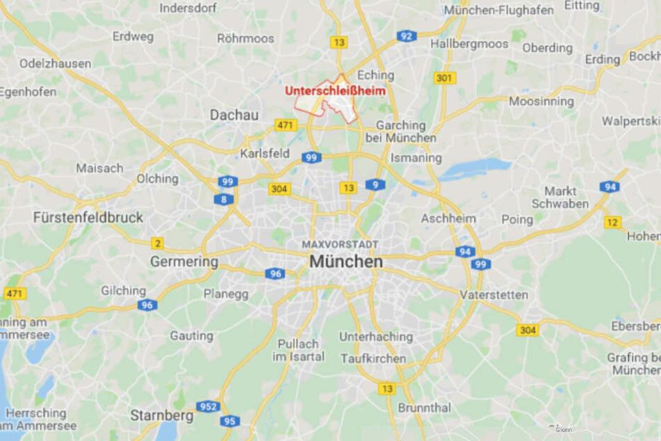 Der erschreckende Zwischenfall hatte sich auf einer Bahnstrecke bei Unterschleißheim ereignet.