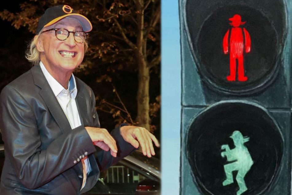 Kein Scherz! Leitet Komiker Otto bald den Verkehr durch seine Geburtsstadt?