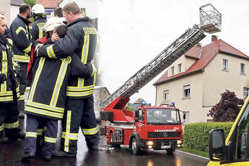 Feuer im Jugendzimmer: Feuerwehr muss toten Kameraden (†16) bergen
