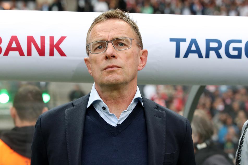 Mit den Bayern und Dortmund kann sich der RB noch nicht vergleichen, bedauert Sportdirektor Ralf Rangnick (62).