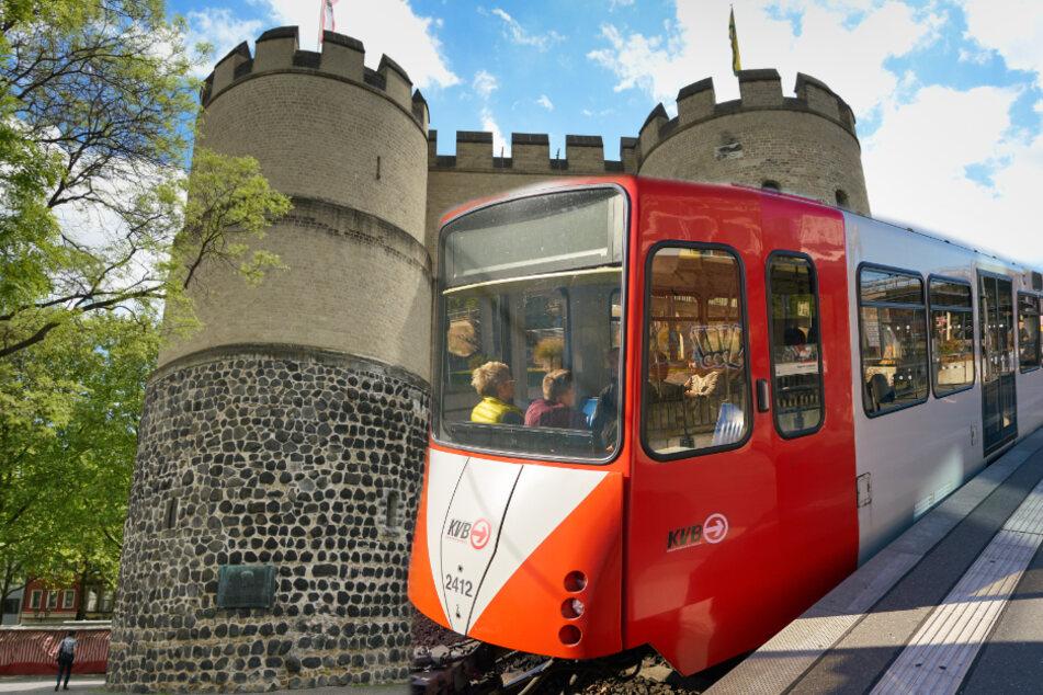 Köln: Frau stürzt zwischen KVB-Bahn und bleibt stecken, Zeugen eilen zur Hilfe