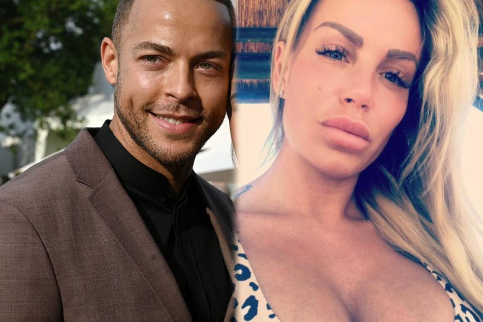 """Hatte es Ex-""""GNTM""""-Kandidatin Gina-Lisa Lohfink (34) am Set von """"Kampf der Realitystars"""" tatsächlich auf Ex-""""Bachelor"""" Andrej Mangold (34) abgesehen?"""