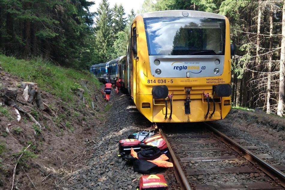 Tote bei Zugunglück im Erzgebirge: Lokführer festgenommen