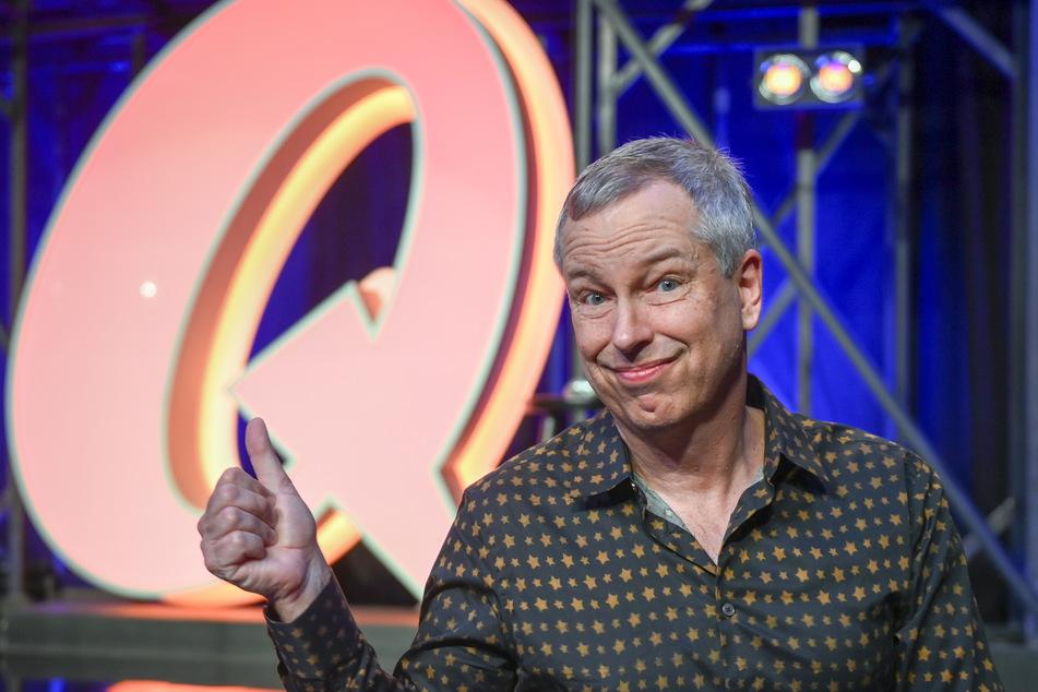 Thomas Hermanns, Moderator und Komiker, steht im Quatsch Comedy Club, der nach vier Monaten Schließung wegen der Corona-Epidemie seinen Spielbetrieb ab 6. August 2020 wieder aufnahm.