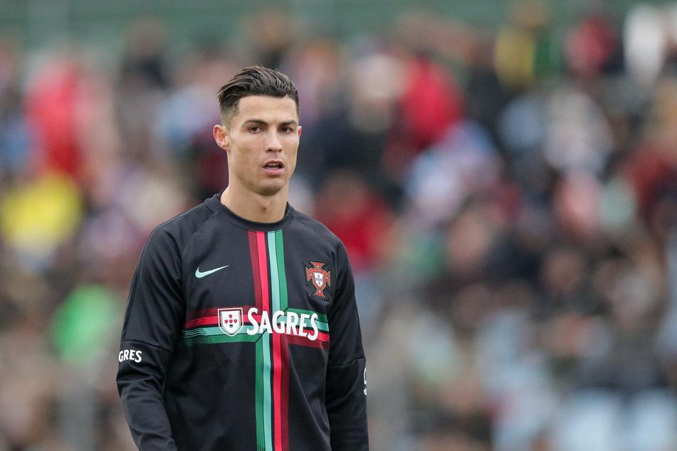 Soccer player Cristiano Ronaldo (35).