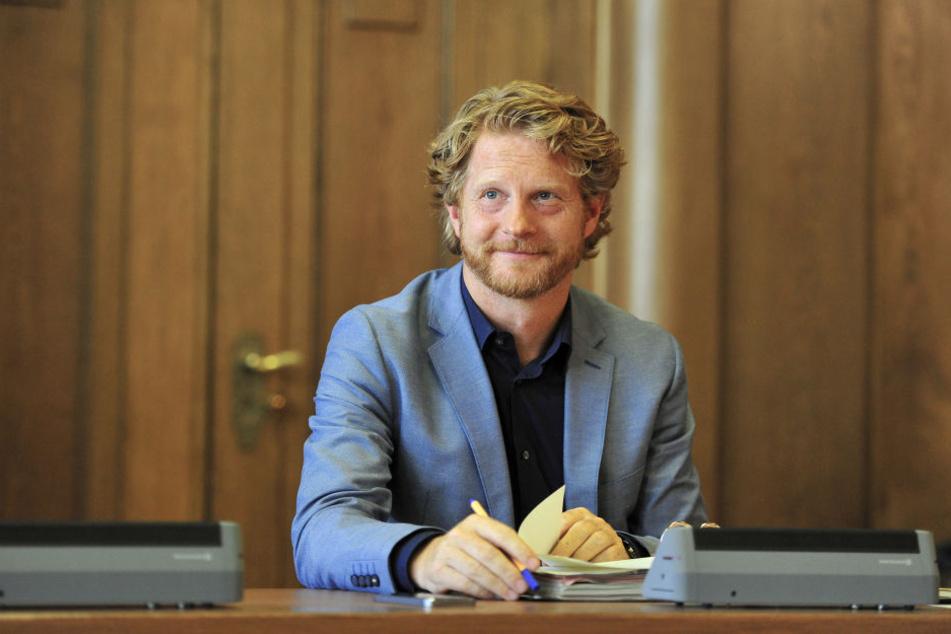 Baubürgermeister Michael Stötzer (45, Grüne) empfiehlt die endgültige Trockenlegung.