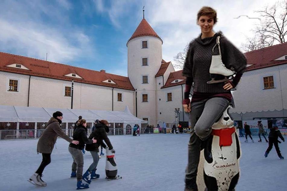 Eislaufspaß mit Deutsche Meisterin auf Schloss Freudenstein: