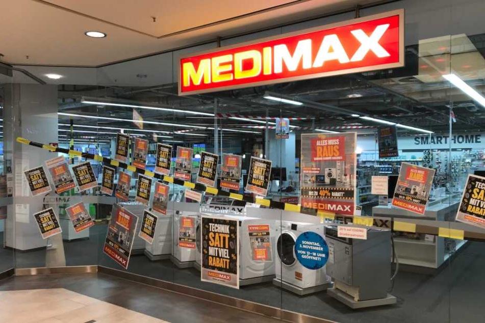 Ab sofort: Großer Ausverkauf bei Medimax Barmbek wegen Schließung