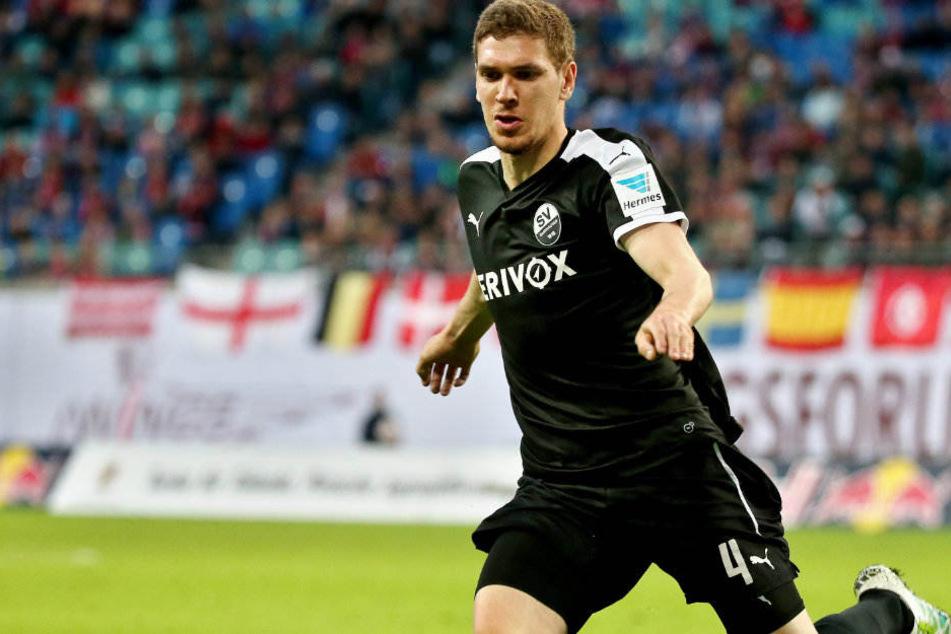 Damian Roßbach wird ab sofort für den Karlsruher SC auflaufen.