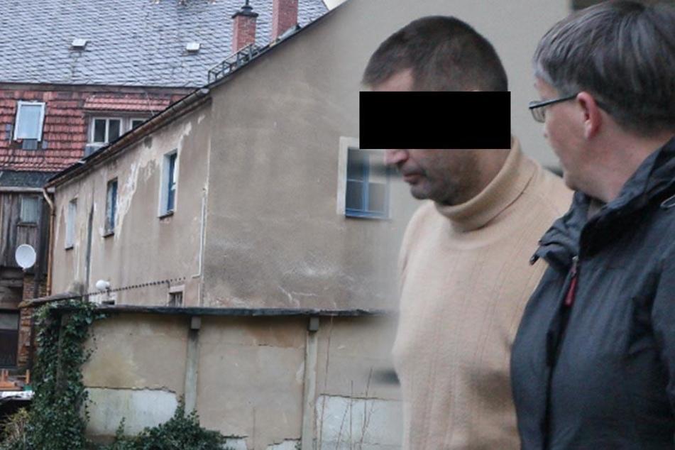 Blutbad in Sebnitz! Er soll einem 32-Jährigen ein Messer in die Brust gerammt haben