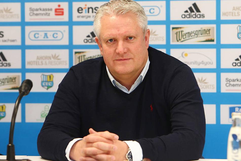 Stephan Beutel wird ab 01.06.2017 nicht mehr Sportdirektor beim CFC sein.