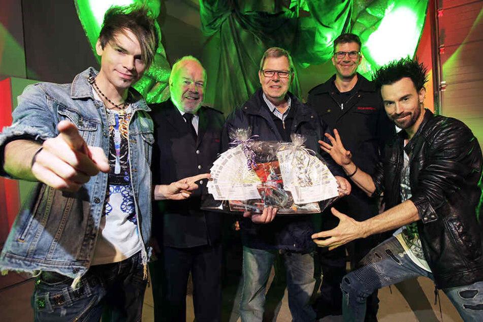 """Die Brüder Chris (li.) und Andreas Reinelt (re.) bilden das Zauber-Duo """"Ehrlich Brothers""""."""