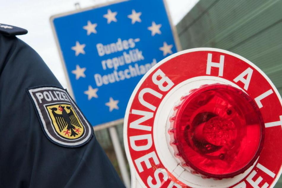 Die Bundespolizei erwischte am Wochenende in Reitzenhain mehrere Personen bei der unerlaubten Einreise nach Deutschland. (Symbolbild)