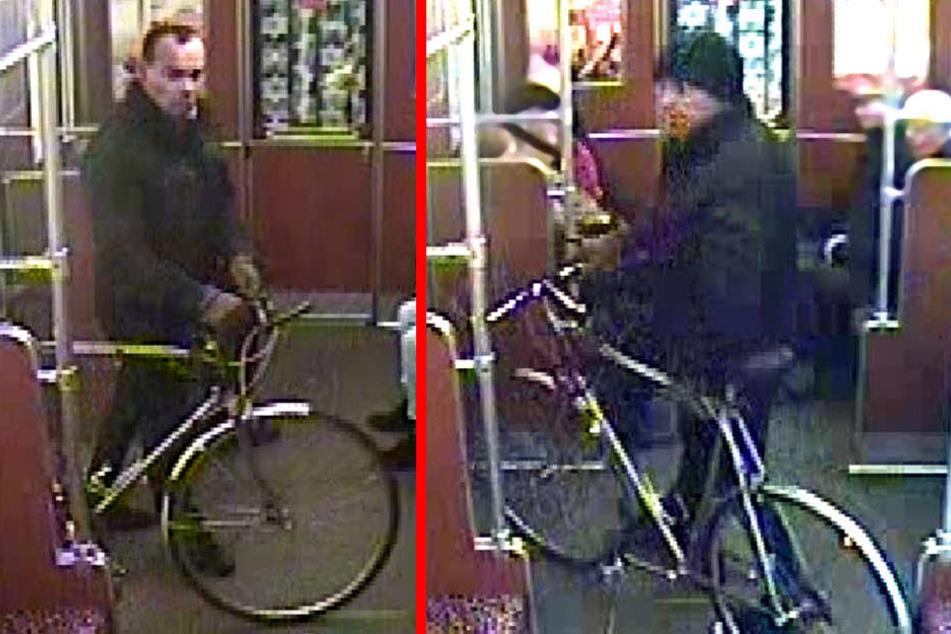 Tatverdächtiger aufgenommen in einem Zug der Linie U3.