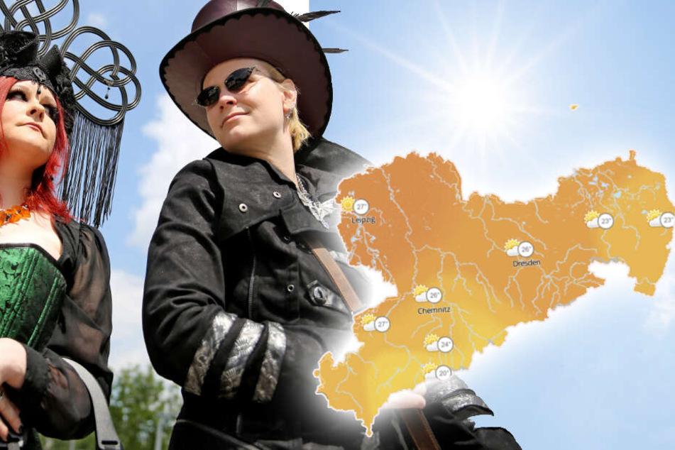 Eine Stadt in Sachsen darf sich über besonders gutes Wetter freuen.