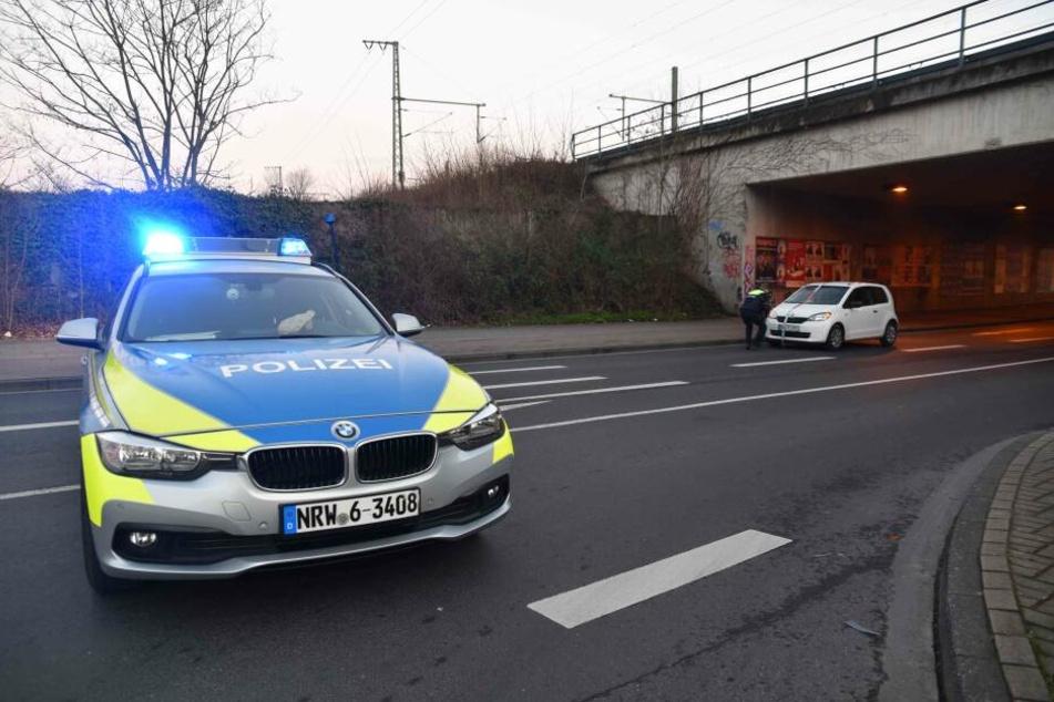 Der Unfallort wurde am Montagnachmittag abgesperrt.