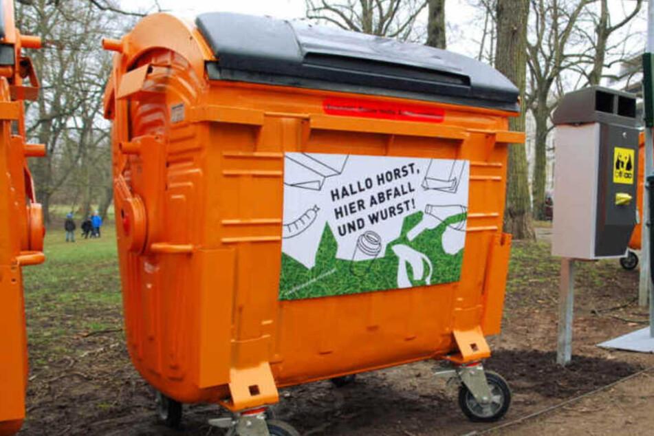 Hier ist jetzt wieder viel Platz für Euren Park-Müll