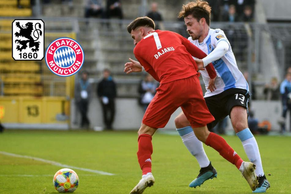 TSV 1860 holt im München-Derby gegen den FC Bayern Remis