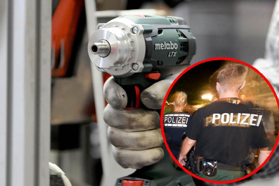 Dumm gelaufen! Werkzeug-Dieb rennt Polizei in die Arme