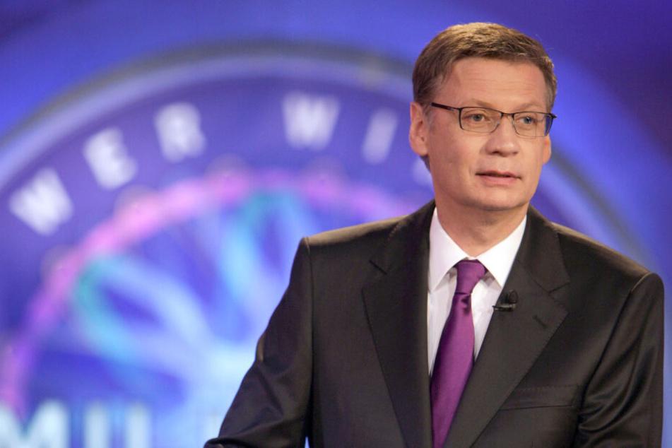 """Günther Jauch moderiert die Aufzeichnung der Sendung """"Wer wird Millionär? - Prominenten-Special"""". (Archivbild)"""