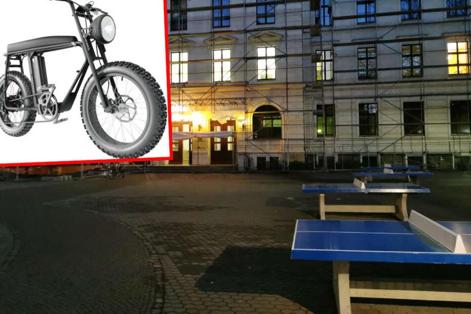 Diebe klauen hochwertiges E-Bike von Leipziger Schulhof