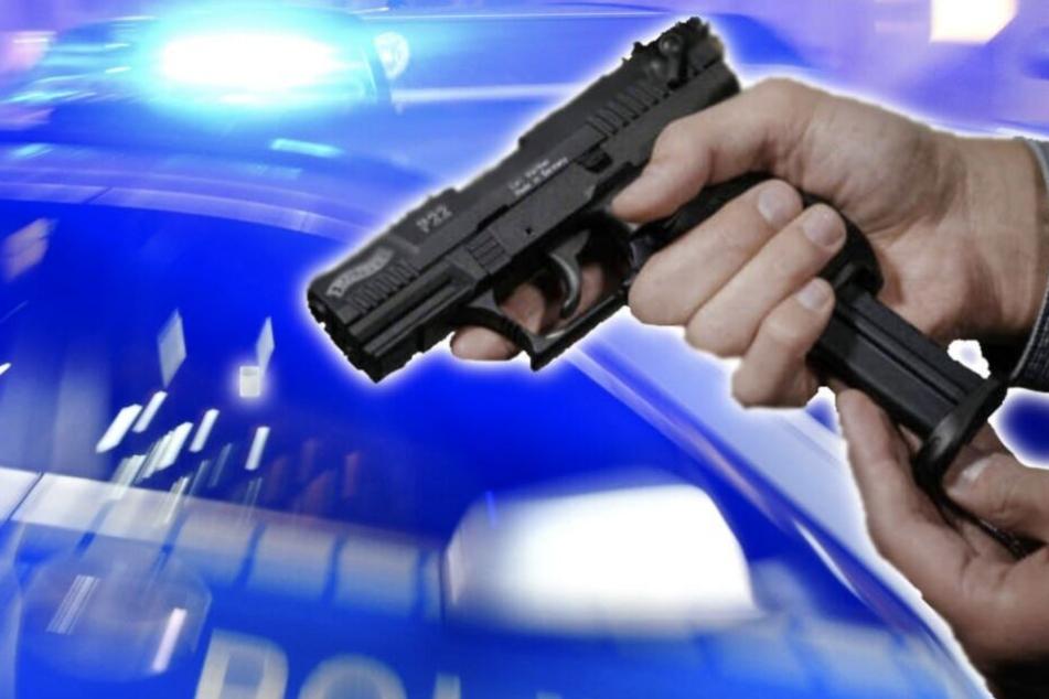 Betrunkener schießt mit Schreckschusswaffe um sich