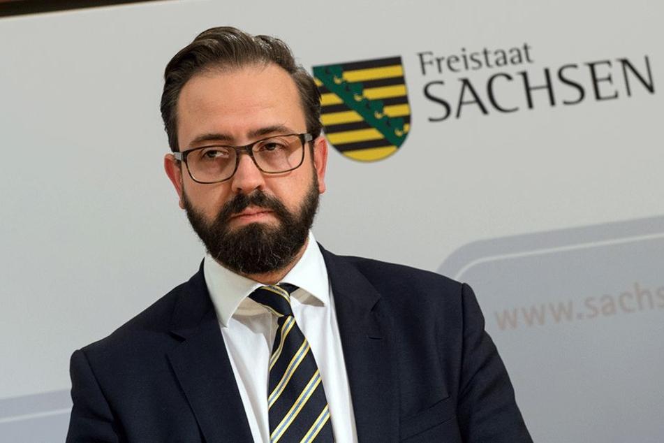 Minister Sebastian Gemkow (40, CDU).