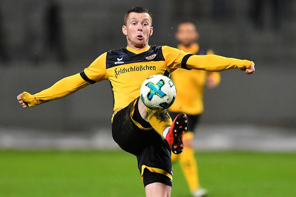 Am Ball kann Haris Duljevic fast alles, nur an der Torgefährlichkeit muss Dynamos Bosnier noch arbeiten.